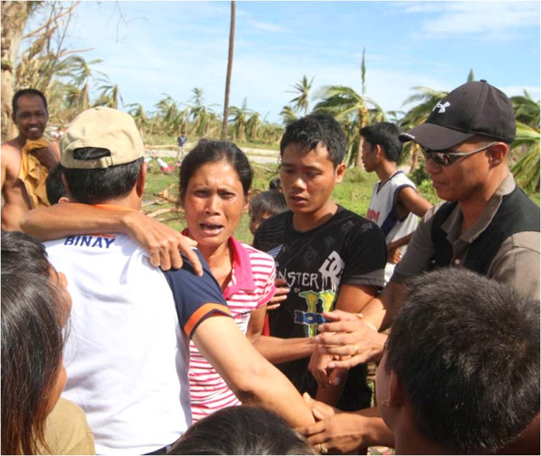 VP BINAY ASSURES GOV'T ASSISTANCE TO TYPHOON PABLO VICTIMS IN DAVAO ORIENTAL