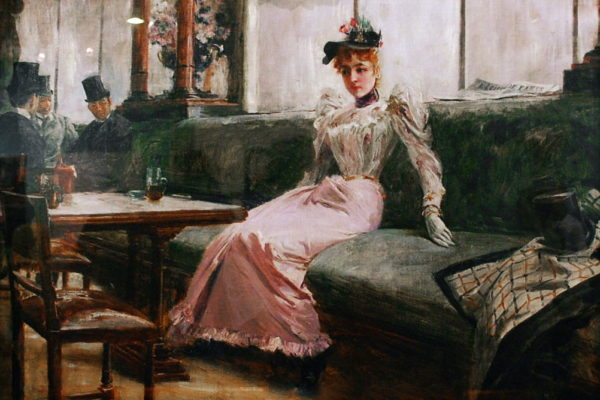 The Parisian Life by Juan Luna