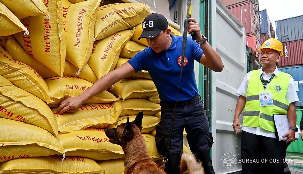 BOC seizes P125-M worth of smuggled rice