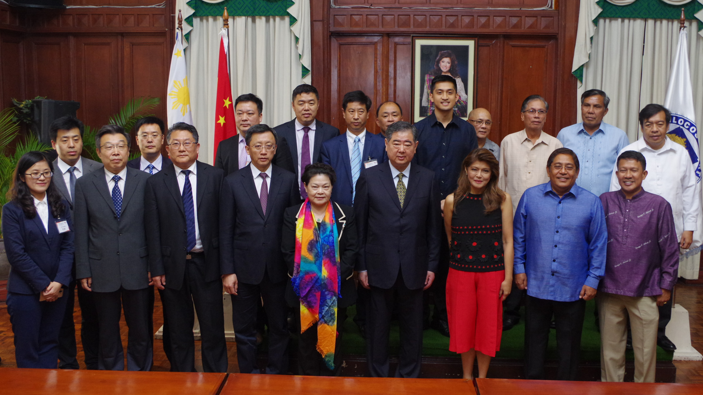 FILE PHOTO. Shandong Ilocos Business Matchmaking and Action Plan Signing on March 2017