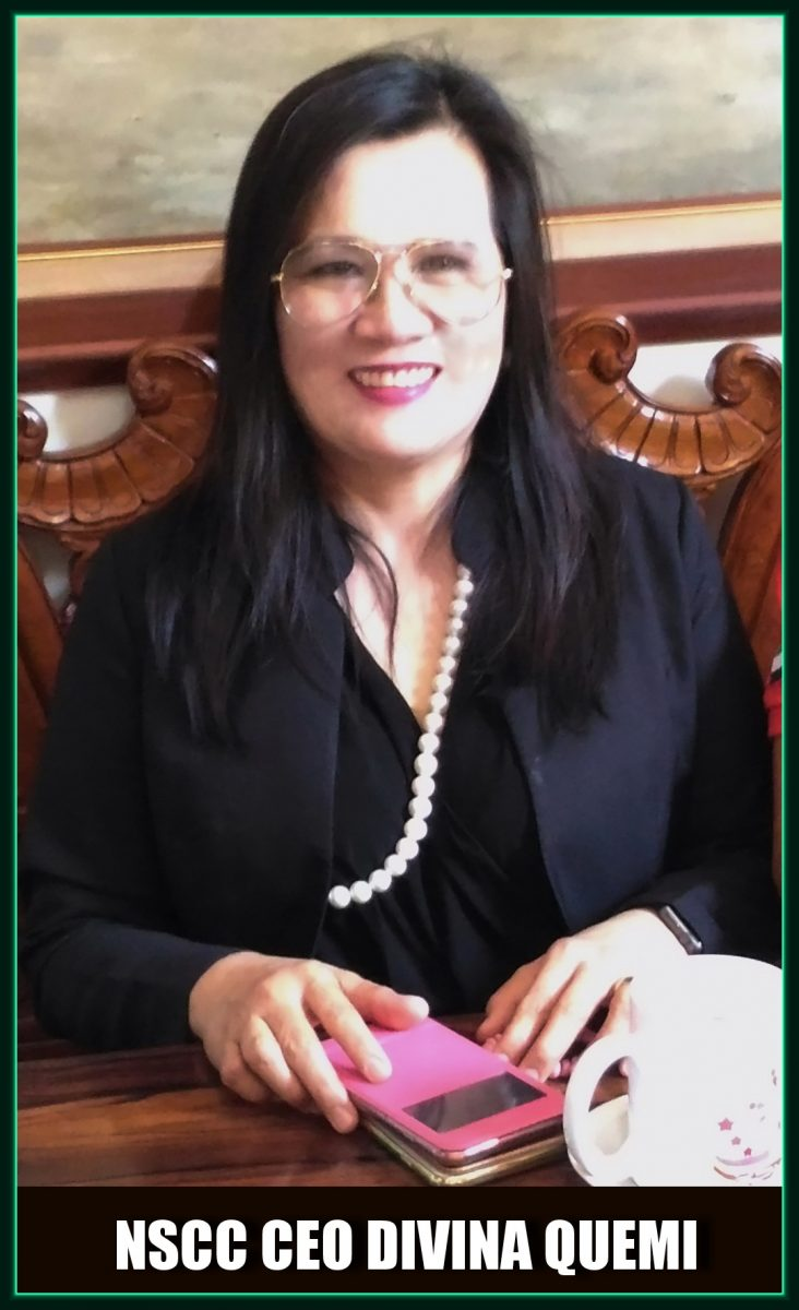 Divina Quemi, the Chief Executive Officer (CEO) of the Nueva Segovia Consortium of Cooperatives (NSCC)