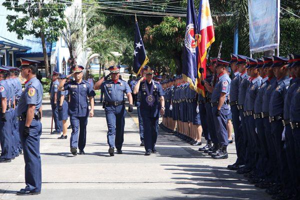 Police Director General Oscar D Albayalde