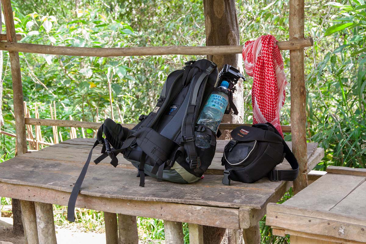 Deuter backpack (Photo by Jasper Espejo)