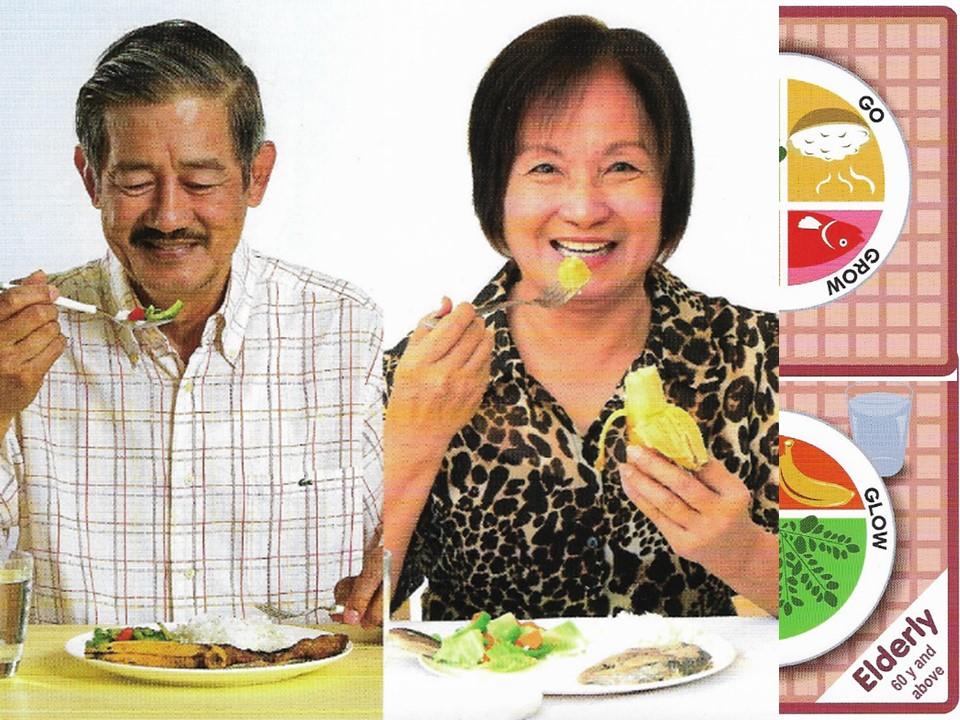 Senior citizen diet