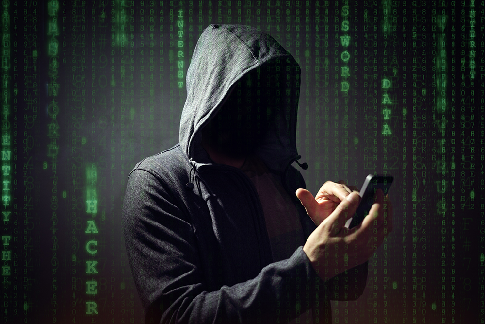 Phone hack scam
