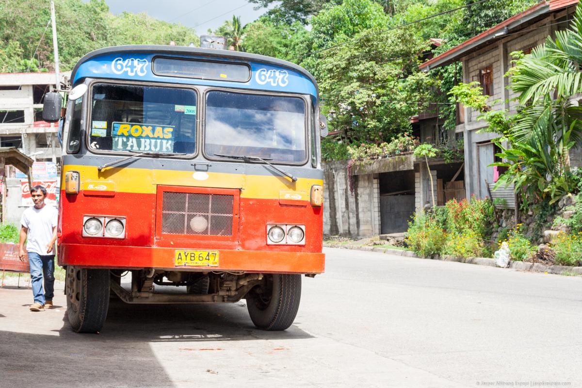 Bus to Tabuk, Kalinga.