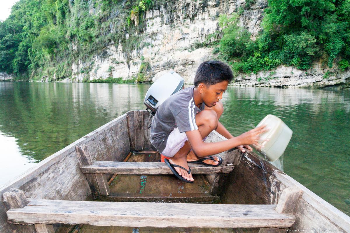 Boat boy, Calao, Cagayan.
