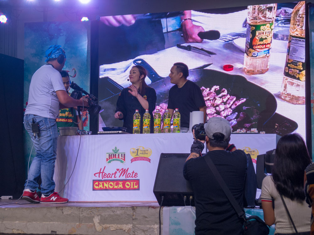Jolly Heart Mate Canola Oil with Chef Donita Rose