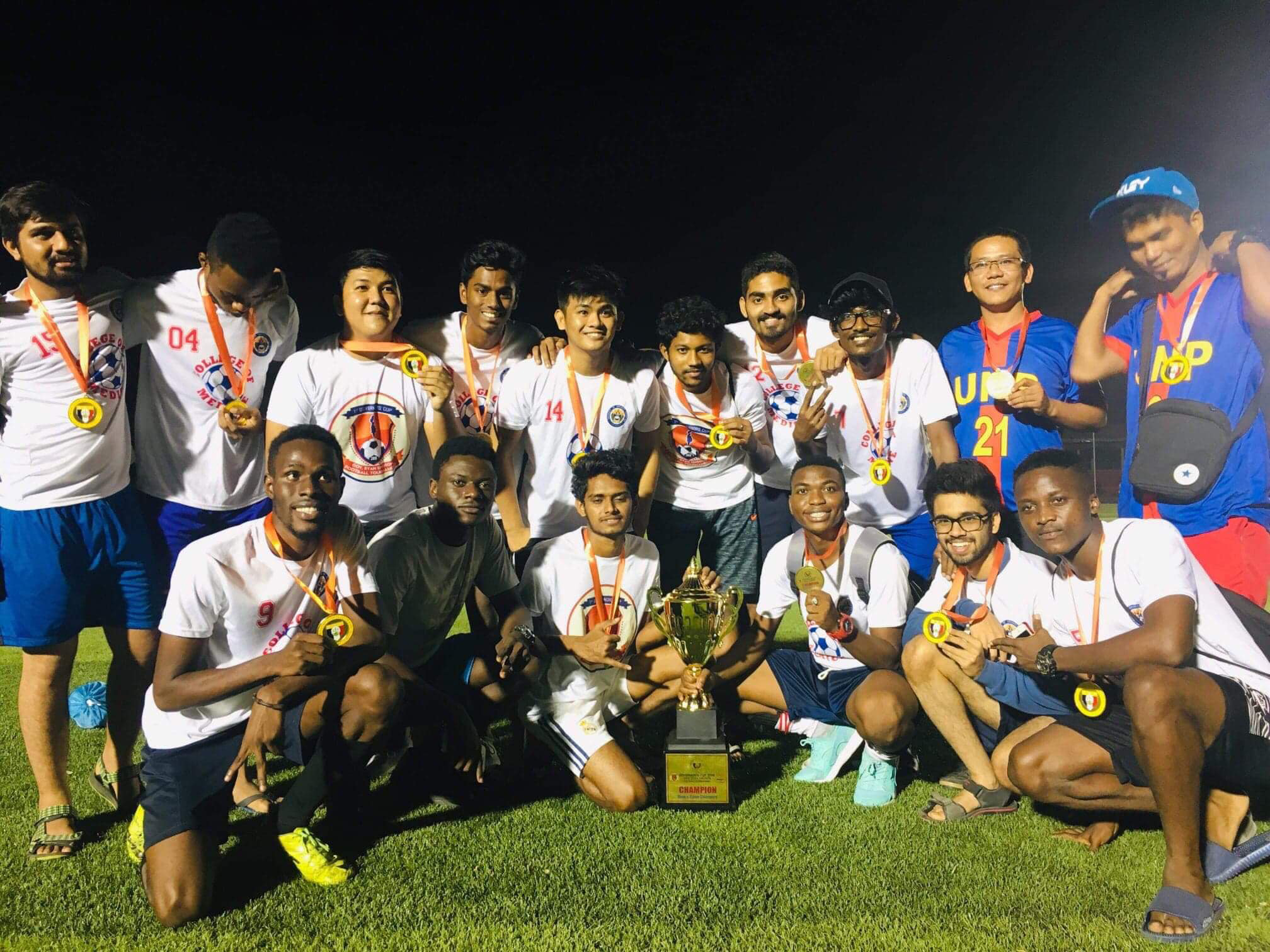 Football team of the University of Northern Philippines College of Medicine