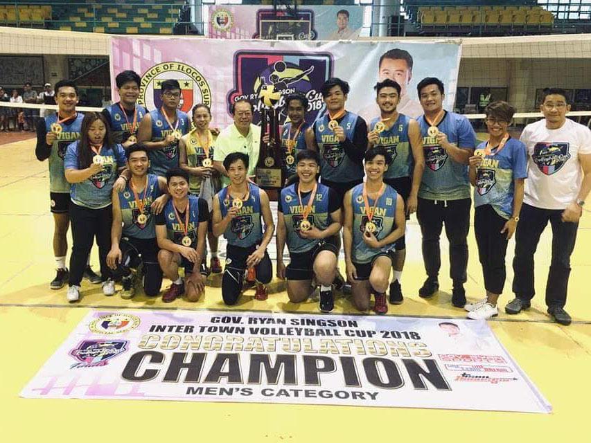 Vigan volleyball team