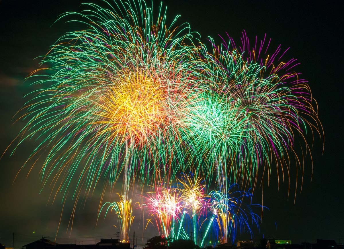 PHOTO: Fireworks stock photo by pxhere.