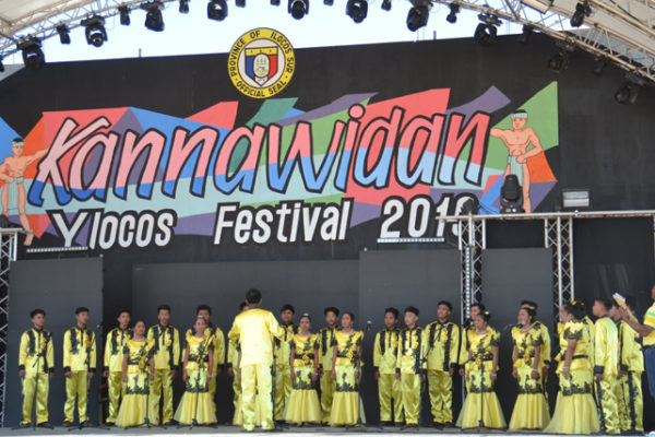 KANNAWIDAN YLOCOS FESTIVAL 2019. Through the choir competition featuring Ilocano songs among schools in Ilocos Sur, the youth of the province learn to love their culture. This is part of the 2019 Kannawidan Ylocos Festival held in Vigan City on January 28 to February 17. A project of the Provincial Government led by Gov. Ryan Luis V. Singson, the festival celebrates not only the culture and traditions of Ilocanos but also the 201st year of Ilocos Sur as a province. (Imelda C Rivero/PIA Ilocos Sur)