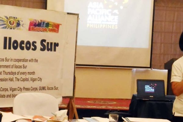 Asia-Pacific Alliance for Disaster Management (APAD) Luzon Coordinator Cora Jazmines