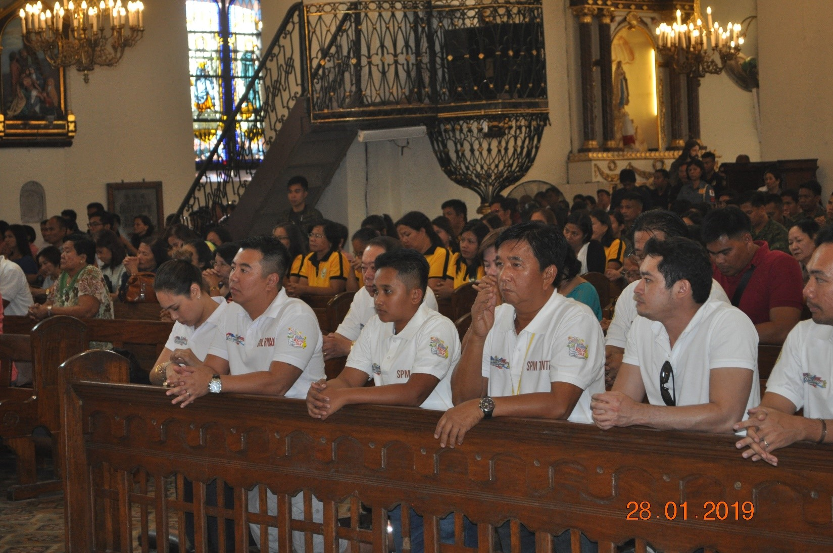 Nasantuan a Misa kas panangirugi ti Ilocos Kannawidan Festival a panangrambak ti maika-201 nga anibersario ti probinsia nga Ilocos Sur. (photo by Eden A. Alviar)