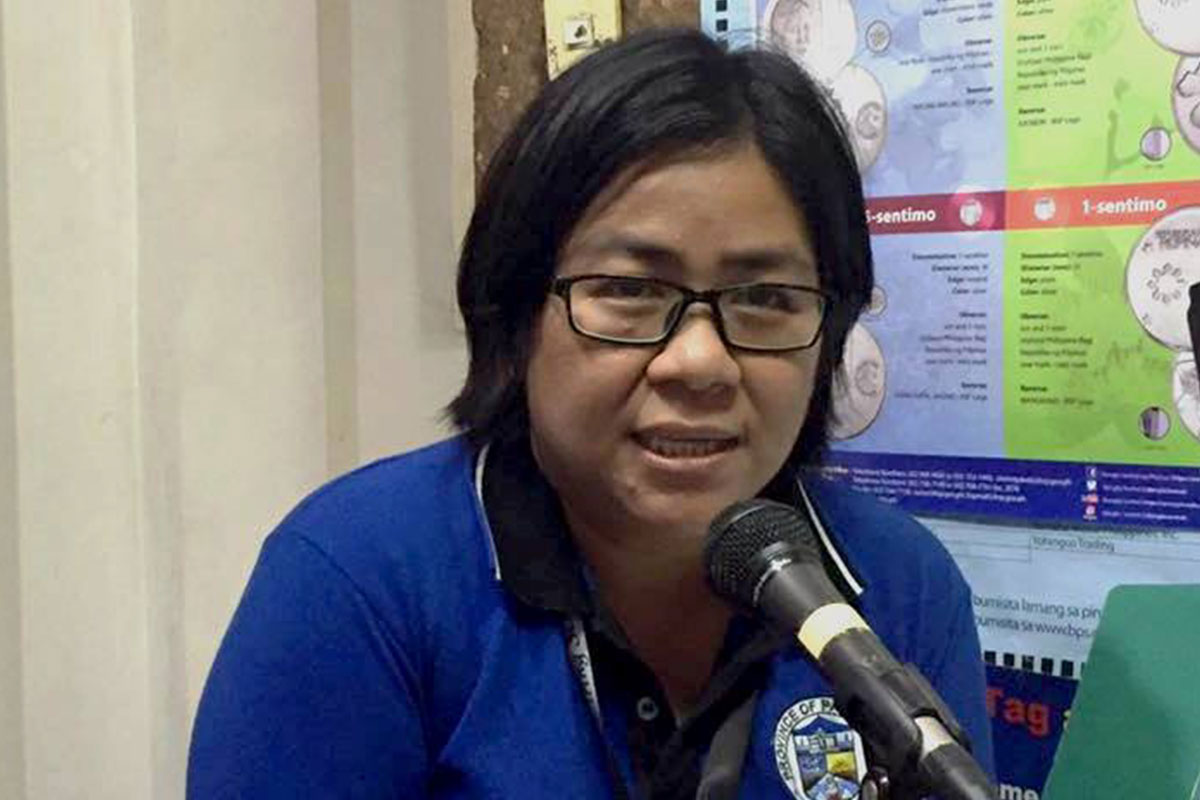 Karen Lois Dela Cruz, nurse of Pangasinan Provincial Health Office (PHO)